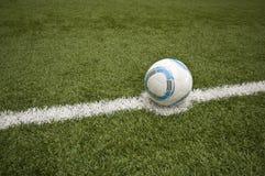 Gioco del calcio astratto Fotografia Stock Libera da Diritti