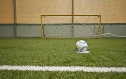 Gioco del calcio astratto Fotografia Stock