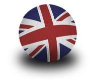 Gioco del calcio britannico Immagine Stock