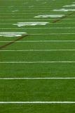 gioco del calcio del campo Fotografia Stock Libera da Diritti