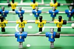 Gioco del calcio del giocattolo Immagine Stock Libera da Diritti