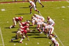 Gioco del calcio dell'università di Stato della Florida Fotografia Stock
