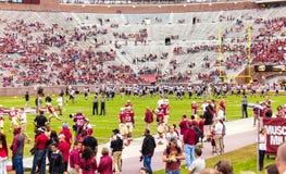 Gioco del calcio della condizione della Florida Immagini Stock