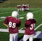 gioco del calcio della gioventù Immagini Stock Libere da Diritti