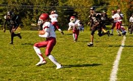 Gioco del calcio della lega della gioventù - 2 Fotografia Stock Libera da Diritti