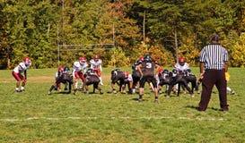 Gioco del calcio della lega della gioventù - 5 Fotografia Stock Libera da Diritti