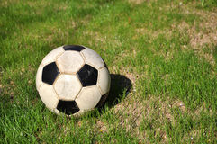 gioco del calcio della sfera Immagine Stock