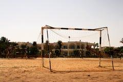 Gioco del calcio della spiaggia Fotografia Stock Libera da Diritti