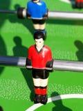 Gioco del calcio della Tabella immagini stock