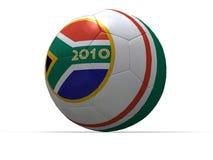 Gioco del calcio della tazza di mondo Fotografia Stock