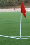 Gioco del calcio dello stadio di calcio Fotografie Stock Libere da Diritti