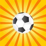 Gioco del calcio - estate Fotografia Stock