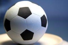 Gioco del calcio europeo Fotografia Stock