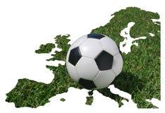 Gioco del calcio europeo, campionato 2008 di calcio Fotografia Stock Libera da Diritti