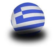 Gioco del calcio greco Fotografia Stock