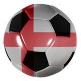 Gioco del calcio Inghilterra Fotografia Stock