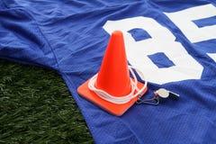 Gioco del calcio Jersey Fotografia Stock