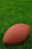 Gioco del calcio su un campo da giuoco dell'erba Fotografie Stock Libere da Diritti
