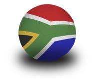Gioco del calcio sudafricano immagine stock libera da diritti