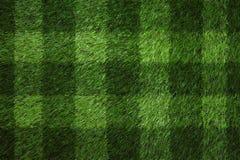 Gioco del calcio verde field Immagini Stock