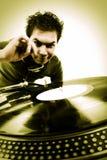 Gioco del DJ Fotografie Stock