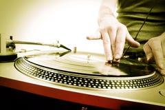 Gioco del DJ Fotografia Stock