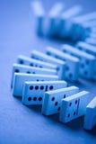 Gioco del gioco di intrattenimento di domino fotografia stock