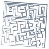 gioco del labirinto 3D royalty illustrazione gratis