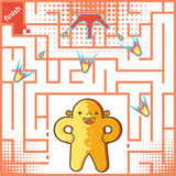 Gioco del labirinto per i bambini royalty illustrazione gratis
