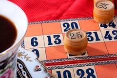 Gioco del Lotto Fotografie Stock Libere da Diritti
