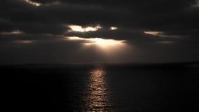 Gioco del nascondino con il Sun Fotografia Stock