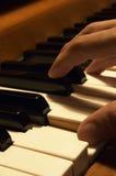 Gioco del piano Fotografia Stock