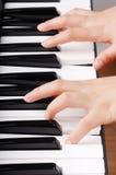 Gioco del piano Fotografia Stock Libera da Diritti