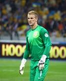 Gioco 2014 del qualificatore della coppa del Mondo della FIFA Ucraina v Inghilterra immagini stock libere da diritti