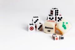 Gioco del sesso dei dadi Giochi di amore del gioco con i dadi del sesso di exotics immagini stock libere da diritti