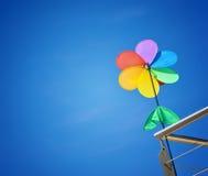 Gioco del vento Fotografie Stock Libere da Diritti