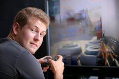 Gioco del video gioco Immagini Stock