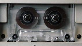 Gioco dell'audio cassetta Ciclaggio senza cuciture Contiene l'alfa metallina stock footage