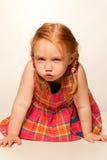 Gioco della bambina fotografia stock