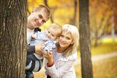 Gioco della famiglia Fotografia Stock Libera da Diritti