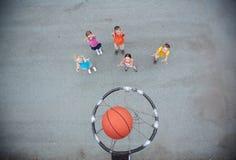 Gioco della pallacanestro Immagine Stock Libera da Diritti