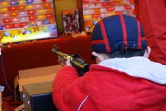 Gioco della pistola Fotografie Stock Libere da Diritti