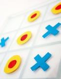Gioco della punta di Tic Tac Fotografia Stock