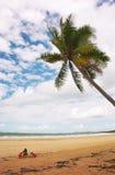 Gioco della spiaggia Fotografie Stock Libere da Diritti