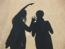 Gioco delle ombre Fotografia Stock Libera da Diritti