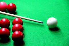 Gioco dello snooker immagini stock libere da diritti