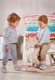 Gioco di bambini. Fotografia Stock