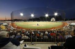 Gioco di baseball Fotografie Stock Libere da Diritti