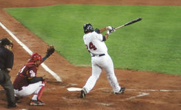 Gioco di baseball del S.U.A.-Venezuela Fotografia Stock Libera da Diritti