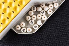 Gioco di bingo Immagini Stock